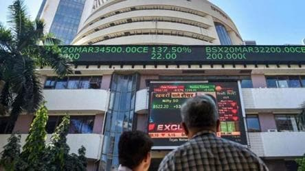 Sensex Nse Trade In Choppy Waters Bank Stocks Up Business News Hindustan Times