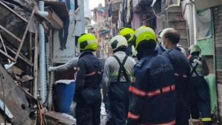 Wall of a house collapses in Mumbai, five rescued; NDRF says no ...