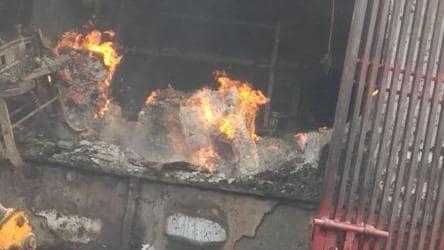 Fire breaks out at cardboard factory in Delhi's Bawana, 14 fire ...