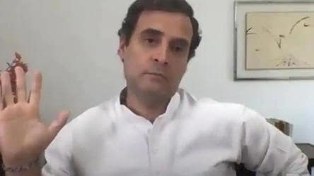 Rahul Gandhi jabs NITI Aayog over Covid-19 'prediction'; gets a prompt rebuttal