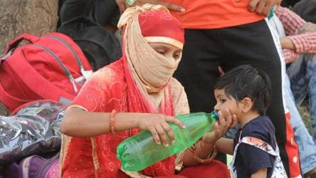 Rajasthan's Churu sizzles at 50°C