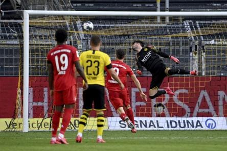 Bundesliga live score & updates: Dortmund 0-1 Bayern at full time