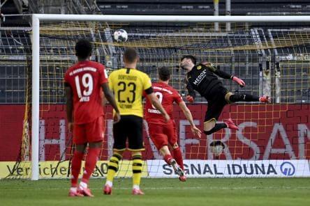 Bundesliga live score & updates: Dortmund 0-1 Bayern in 2nd half
