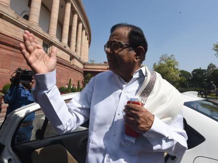 'Remember, this is pre-lockdown': Chidambaram warns on 11-yr low GDP slump