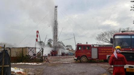 Blowout in Assam gas well may take a few weeks before it's under control