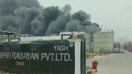 5 dead, over 50 injured as blast in boiler causes massive fire in Gujarat factory