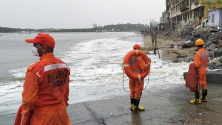 Flights diverted, traffic stopped as Cyclone Nisarga makes landfall
