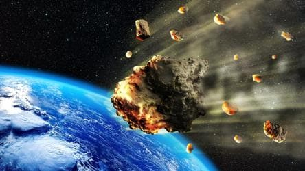 A 170-ft wide asteroid among 5  flying by Earth today: NASA tracker