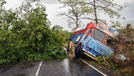 Cyclone Nisarga makes landfall; a lucky escape for Mumbai
