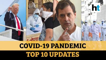 Covid update: Trump on Covid, vaccine; Maha tally; Rahul's 'failed lockdown' jibe