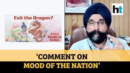 Amul Twitter handle briefly blocked after ad targeted China, MD clarifies