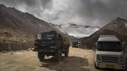 India working on two roads in Ladakh amid border row