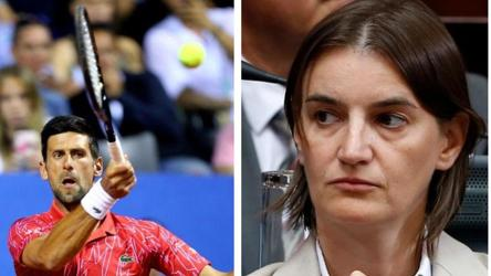 Blame Me Not Novak Djokovic Serbia Prime Minister Ana Brnabic Defends Tennis Star After Adria Open Fiasco Tennis Hindustan Times