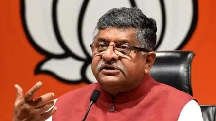'Banning Chinese apps a digital strike': Union minister Ravi Shankar Prasad