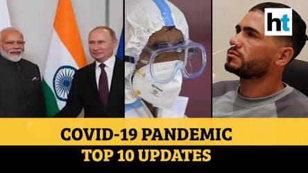 Covid update: Modi, Putin discussion; 3.6 lakh people recover; 1st plasma bank