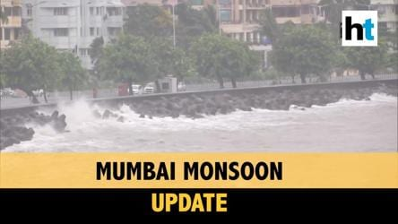 Water-logging, heavy downpour, high tides in Mumbai; IMD issues red alert