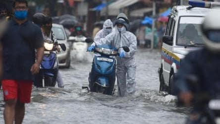 Traffic hit in Mumbai as overnight heavy rains cause water-logging