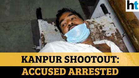 Kanpur shootout accused arrested: Watch Vikas Dubey's aide's claim on camera