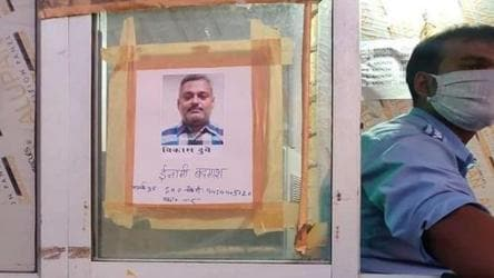 UP Police increase prize money for arrest of gangster Vikas Dubey to Rs 2.5 lakh