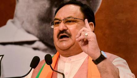 'Criminalisation of politics has scaled new heights': Nadda calls for TMC govt ouster