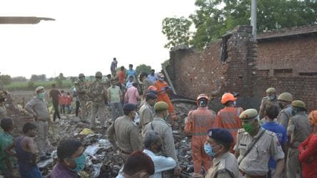Fire at Ghaziabad's illegal factory kills 8; probe ordered