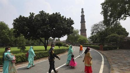 Delhi's coronavirus tally crosses 1 lakh-mark, slight dip in cases recorded