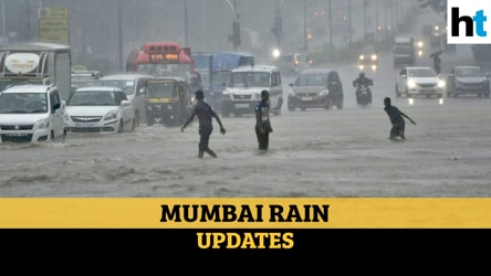 Watch: Heavy rain lashes Mumbai and suburbs, leads to waterlogged roads