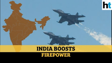 Explained | Missiles, fighter jets: How India's boosting forces amid China row