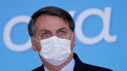 Brazil President Jair Bolsonaro tests positive for Covid-19