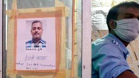 With 40 teams chasing Kanpur gangster, UP police vows not to sit quietly till Dubey is nabbed
