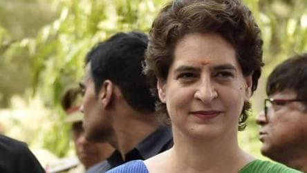 Priyanka Gandhi accuses UP govt of dressing up crime statistics