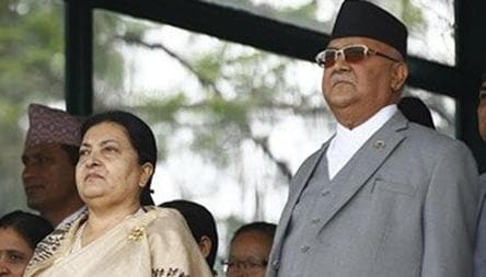 PM Oli floated an 'Emergency' plan to keep his chair intact, Prez is non-committal