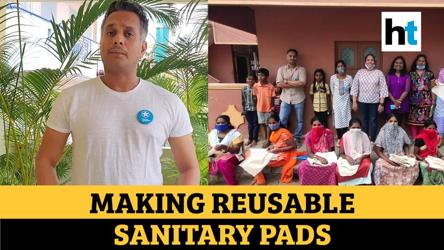 HT Salutes: Bangalore initiative that helps women make reusable sanitary pads