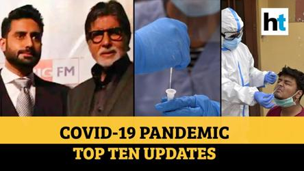 Covid update: Big B, son infected; WHO on Dharavi cases; 5 lakh+ recovered