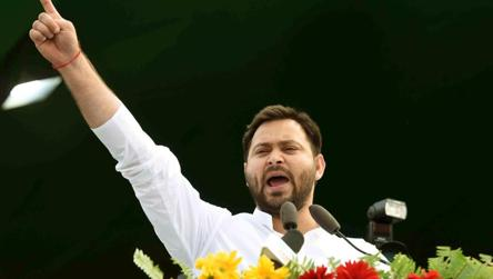 Not a conducive time for polls; impose President's Rule if needed: Tejashwi Yadav