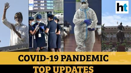 Covid update: Bachchans' condition; Russia vaccine trial over; flight test rule