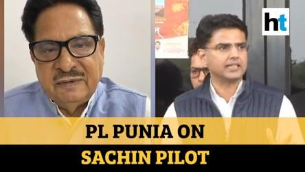 Watch: Congress leader PL Punia says Sachin Pilot is in BJP, then clarifies
