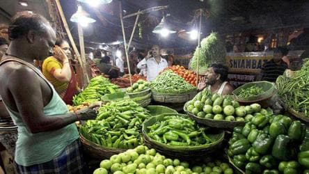 Inflation rises, food prices ease: Data