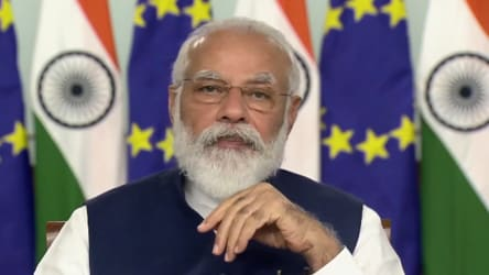 'India and EU share universal values like democracy': PM at India-EU Summit