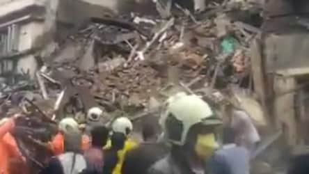 Portion of 5-storey building collapses in Mumbai's Fort area, rescue ops underway