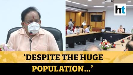 Covid-19 | 'India has performed better than other countries': Harsh Vardhan