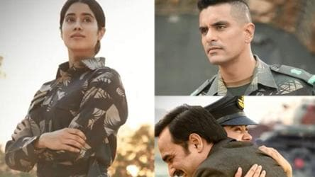 Janhvi Kapoor S Gunjan Saxena The Kargil Girl To Release On Netflix On August 12 New Characters Introduced Bollywood Hindustan Times