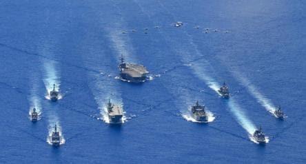 Quad Countries Military Excercises