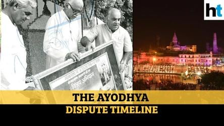 The Ayodhya dispute: A detailed timeline from 1528 to 2020