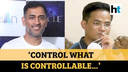 Watch how MS Dhoni's mantra helped Manipur boy clear UPSC civil services exam