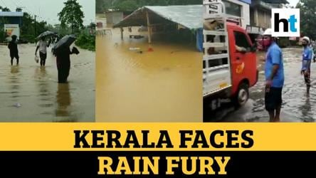 Watch: Rain fury wreaks havoc in Kerala; landslides kill over 10 in Idukki