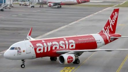 AirAsia flight at Ranchi airport suffers bird hit, take-off aborted