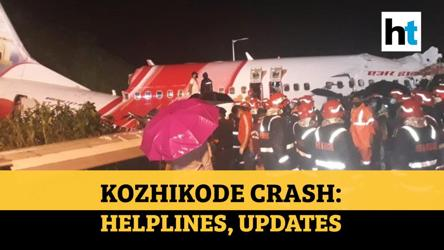 Kozhikode crash: Pilots among 20 dead; PM Modi speaks to Kerala CM; NDRF rushed