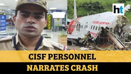 Watch: Eyewitness recounts Air India Express plane crash at Kozhikode airport