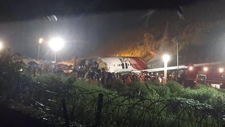 20 dead in Kerala as repatriation flight skids off runway, breaks in two